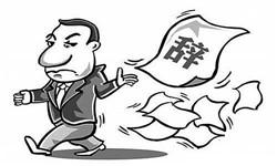 联盟部长的辞职申请书范文